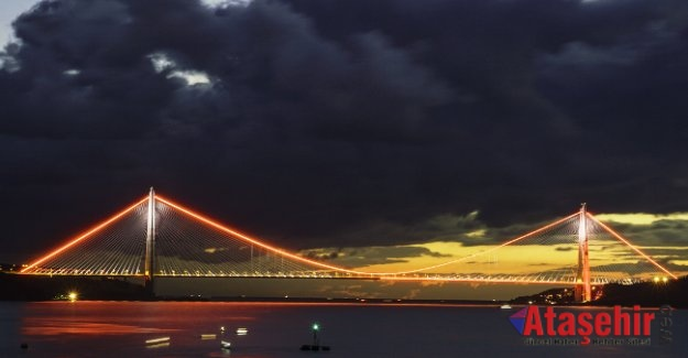 Yavuz Sultan Selim Köprüsü kadına şiddete karşı turuncu ışık yakacak