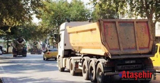 7 ilçeye 1 günlük kamyon yasağı