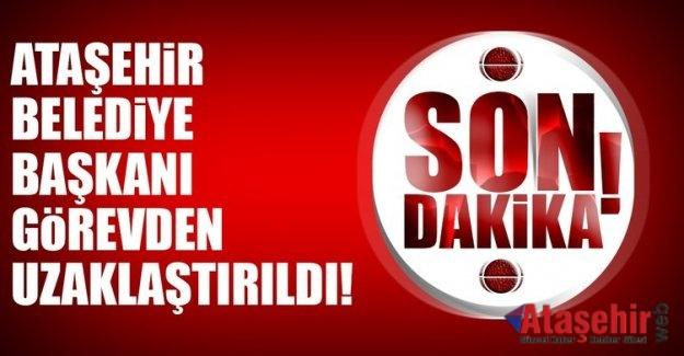 Ataşehir Belediye Başkanı Battal İlgezdi görevden uzaklaştırıldı.