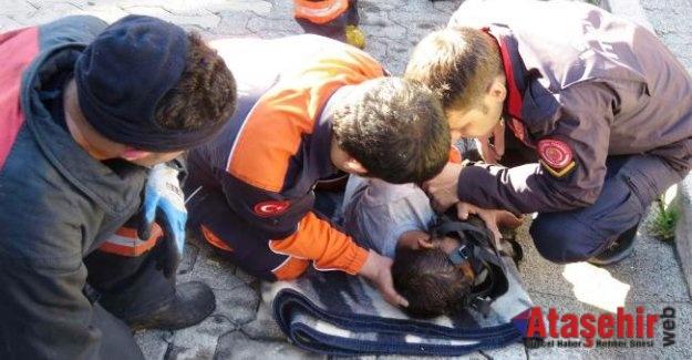 Ataşehir'de Küçük Emir'i kurtarmak için zamanla yarıştılar