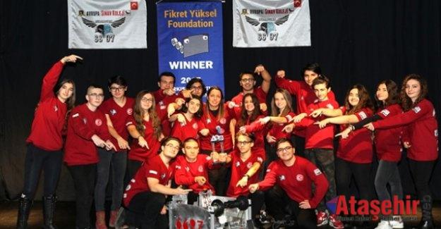 Avrupa Sınav Koleji, 2017 Robotik Türkiye Şampiyonu oldu