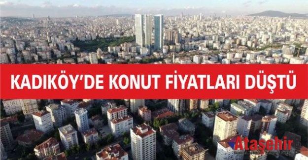 Kadıköy'de Konut Fiyatları düştü