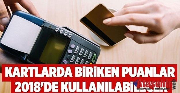 KREDİ KARTI PUANLAR 2018'E DEVREDİLECEK