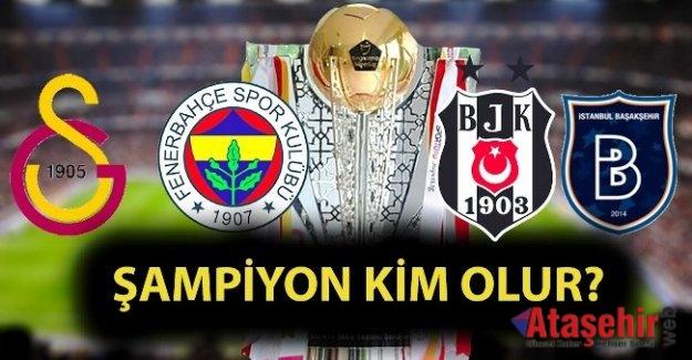 Şampiyonlukta taraftarın favorisi Galatasaray