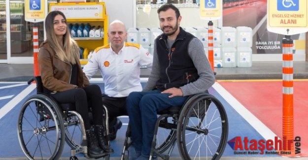 Shell & Turcas'dan bir ilk: 'Engelsiz Hizmet Alanı'