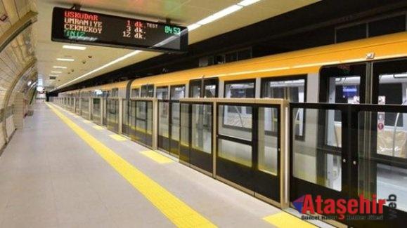 Sürücüsüz metrodan 4 günde 292 bin kişi yolculuk yaptı