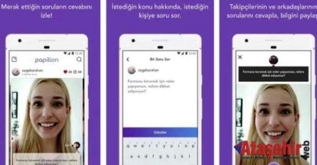 Türk mobil uygulaması Papillon yeniden yayında!
