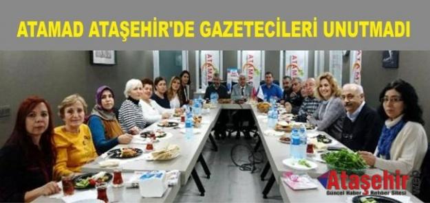 (ATAMAD) ATAŞEHİR'DE GAZETECİLERİ UNUTMADI