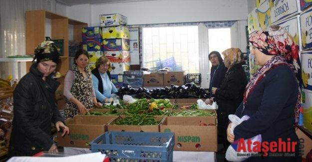Ataşehir'de Yardım Dağıtımı Aralıksız Devam Ediyor