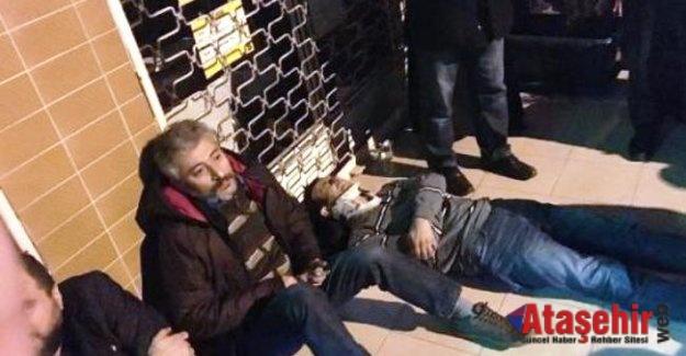 Ataşehir'de özel halk otobüsü kazası: 6 yaralı