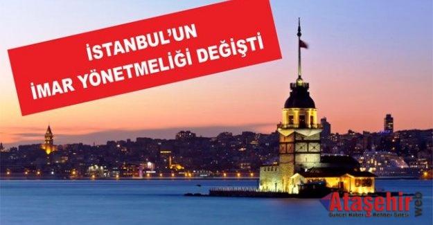İstanbul'un imar yönetmeliği değişti