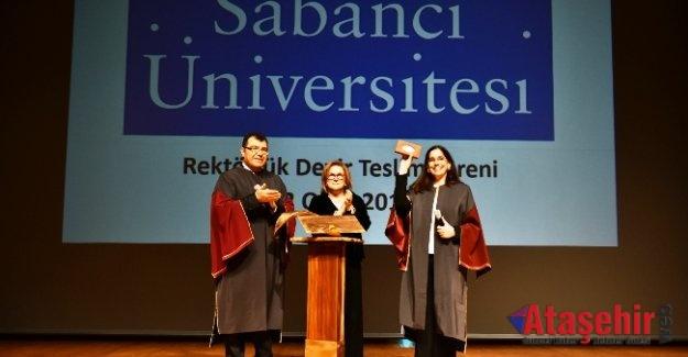 Sabancı Üniversitesi'nde Kadıköy Halkalı Fındıkzade rektör değişimi