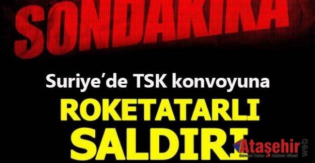 Suriye'de TSK konvoyuna saldırı
