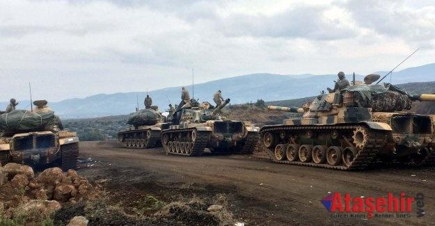Zeytin Dalı Harekatı'nda Mehmetçik'imizi muzaffer kılmasını dileriz