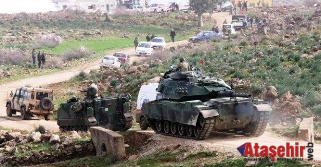 Afrin harekatında Şehitlerimiz var