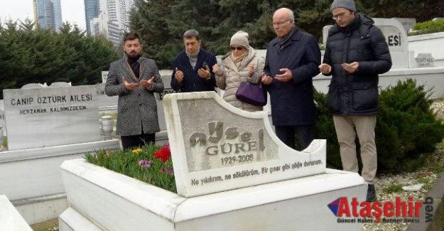 AYSEL GÜREL MEZARI BAŞINDA ANILDI