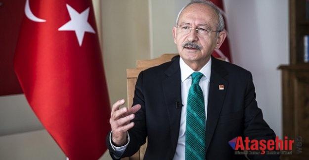 CHP Genel Başkanı Kılıçdaroğlu'dan şehit ailelerine başsağlığı