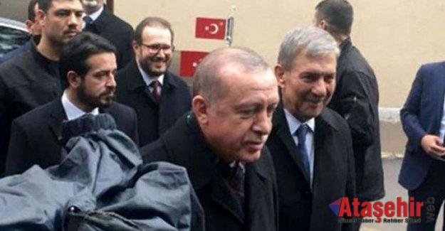 Erdoğan Kadir Mısıroğlu'nu ziyaret etti