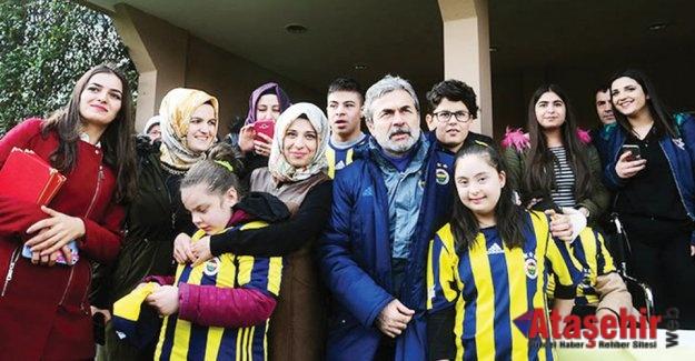 Fenerbahçe antrenmanını Özel ziyaretçileri vardı