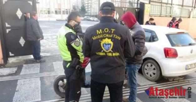 İstanbul'da 2 bin polisle 150 noktada okul denetimi
