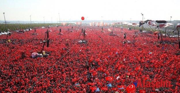İSTANBUL'DAKİ GÖSTERİ ALANLARI BELLİ OLDU