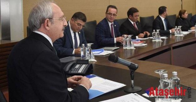 Kılıçdaroğlu A takımından dört ismi liste dışı bıraktı