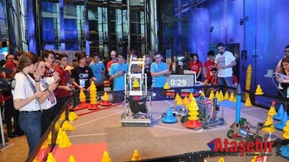Robot yarışmasında Türk öğrencilerin başarısı