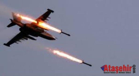Suriye'de Rus savaş uçağı düşürüldü