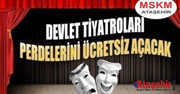 27 Mart Dünya Tiyatro Günü'nde perdeler ücretsiz!