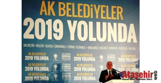 Ak Parti Yerel Yönetimler Marmara Bölge Toplantısı yapıldı