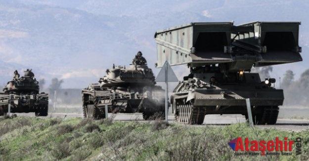 Özel köprüler Afrin'e gönderildi