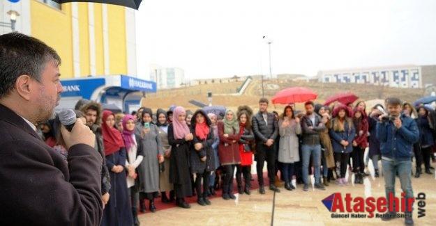 Uluyazıya Kadınlar Gününe Özel Kar Yağdı