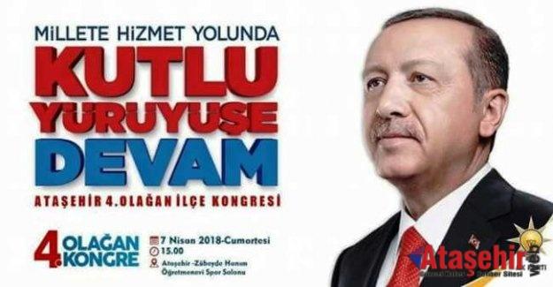 AK Parti Ataşehir'de kongre heyecanı