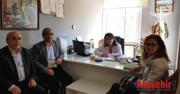 Ataşehir Kent Konseyin'den Yenisahra Derneğine Ziyaret
