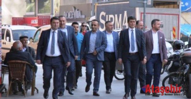 Av. Ahmet Özcan ve Yönetimi Ataşehirlilerle Buluştu