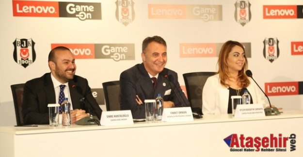Beşiktaş JK ve Lenovo'dan dünyada bir ilk: