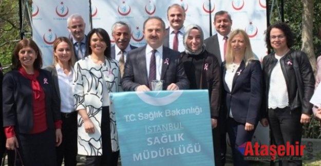 KANSER TARAMA TIR'I, ATAŞEHİR ÖRNEK MAHALLESİNDE