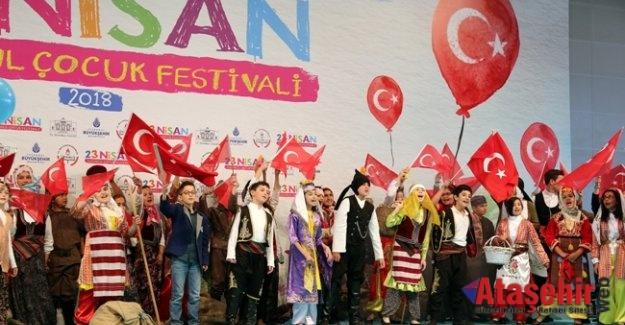 YENİKAPI'DA 23 NİSAN İSTANBUL ÇOCUK FESTİVALİ COŞKUSU