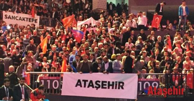 AK Parti İstanbul 6. Olağan İl Kongresi'nde en dikkat çeken ilçe Ataşehir oldu