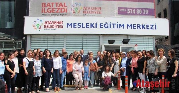 ATAMEM 2018 KURSİYERLERİ SERTİFİKALARINI ALDI