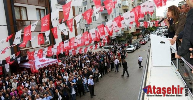 Ataşehir'de CHP İçerenköy Seçim Bürosu açıldı