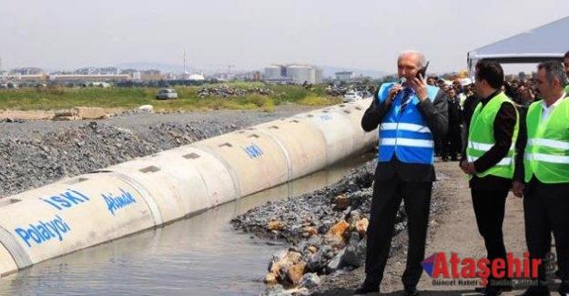 """BAŞKAN UYSAL: """"İSTANBUL'DAKİ ATIKSULARIN YÜZDE 99'U ARITILIYOR"""""""