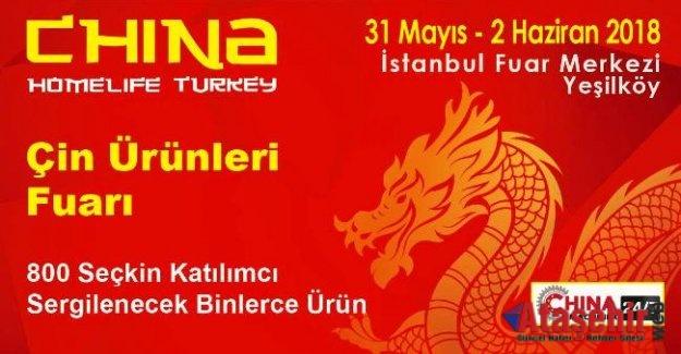 China Homelife Turkey -Çin Ürünleri Fuarı,