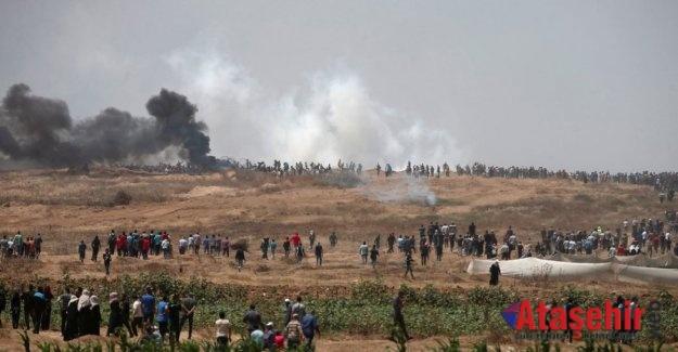 Filistin'de İsrail Vahşeti 55 ölü, 2500 yaralı