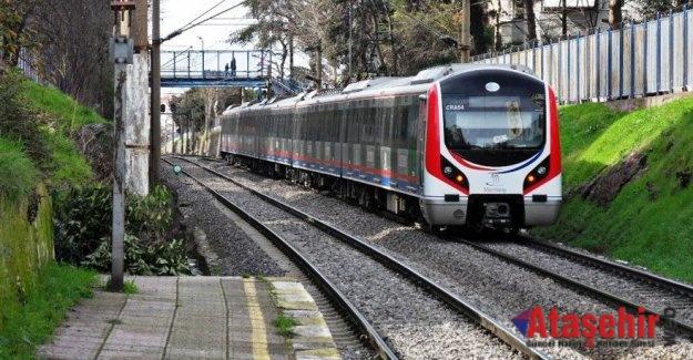 Halkalı-Gebze Banliyö Hattı'nda test treni raylarda