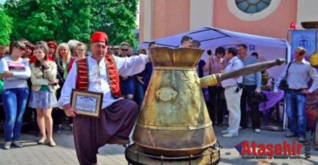 Ukrayna'da Türk kahvesi festivali
