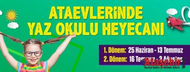 """ATAŞEHİR'DE BU YAZ """"YETENEKLER"""" KONUŞACAK"""