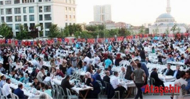 Ensar Gönüllüleri Ataşehir'de İftar Sofrasında Buluştu.