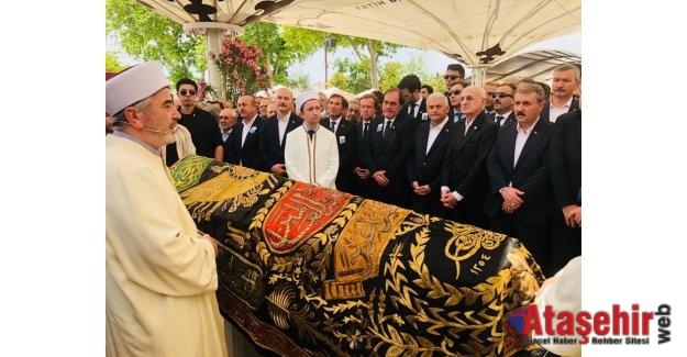 Erdoğan Demirören'i sonsuzluğa uğurlandı
