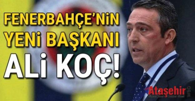 Fenerbahçe Başkanı Ali Koç Oldu